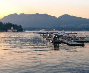 Float planes in Vancouver
