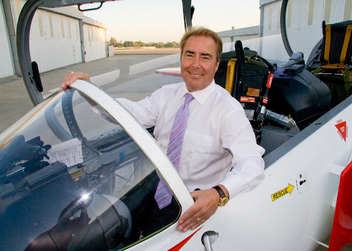 Patrick Bailey of Bailey & Partners Law Firm in Airplane
